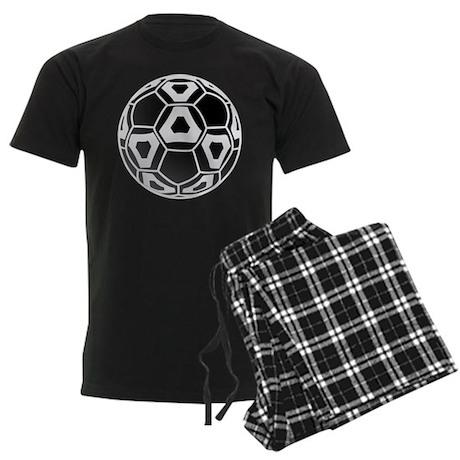 Cool New Soccer Ball Men's Dark Pajamas