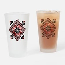 Folk Design 7 Drinking Glass