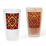 Folk Design 5 Drinking Glass