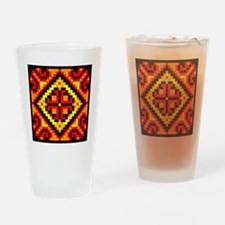 Folk Design 5 Drinking Glass
