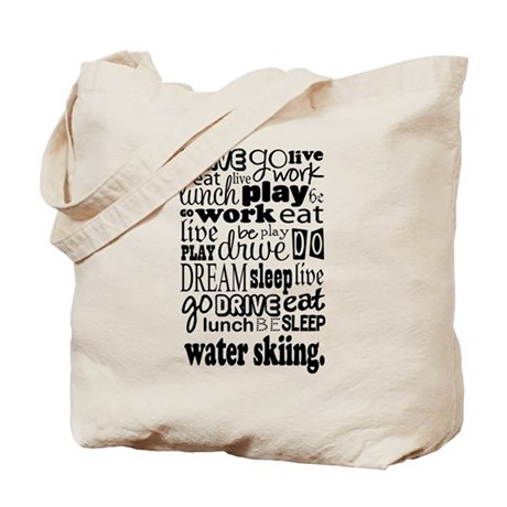 Water Skiing Gift Tote Bag