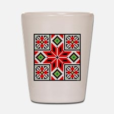 Folk Design 3 Shot Glass