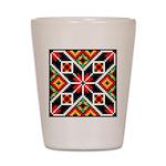 Folk Design 2 Shot Glass