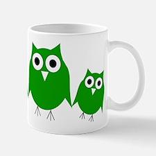Green Owls Mugs