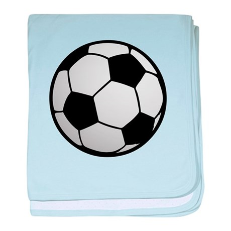 Fun Soccer Ball baby blanket