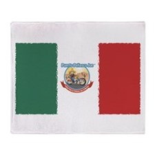Mexican Throw Blanket - Flag