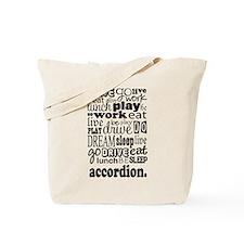 Accordion Music Gift Tote Bag