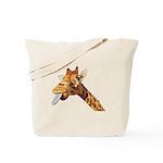 Rude Giraffe Tote Bag