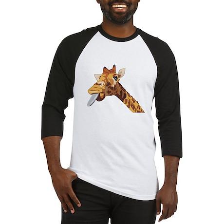 Rude Giraffe Baseball Jersey