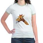 Rude Giraffe Jr. Ringer T-Shirt