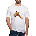 Rude Giraffe Fitted T-Shirt