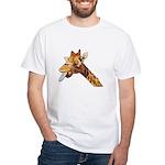 Rude Giraffe White T-Shirt