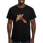 Rude Giraffe Men's Fitted T-Shirt (dark)
