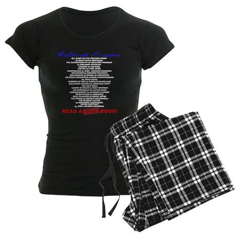 Read a Banned Book! Women's Dark Pajamas