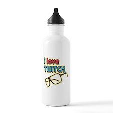 I Love Twitch Water Bottle