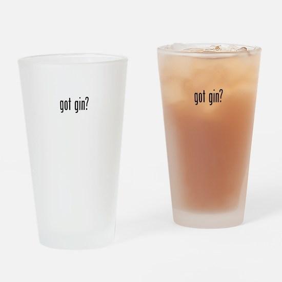 Got Gin Drinking Glass