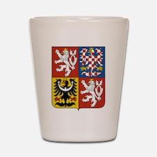 Czech Coat of Arms Shot Glass