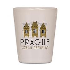 Prague Shot Glass
