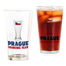 Prague Drinking Team Drinking Glass