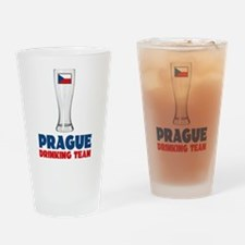Prague Drinking Team Drinking Glass