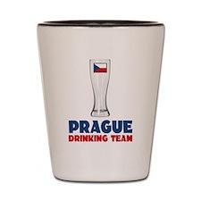 Prague Drinking Team Shot Glass