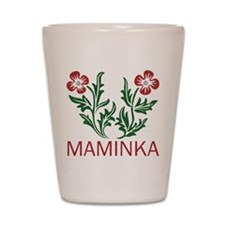 Maminka Shot Glass