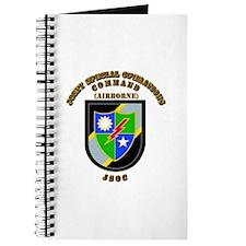 SOF - JSOC - Flash - Ranger Journal