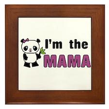 I'm the Mama Framed Tile
