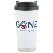 Obama Gone w/ Date Travel Mug