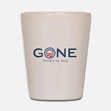 Obama Gone w/ Date Shot Glass