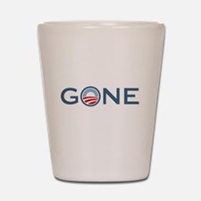 Obama is Gone Shot Glass
