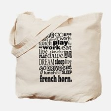 French Horn Music Gift Tote Bag