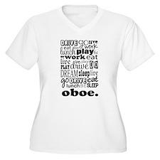 Oboe Music Gift T-Shirt
