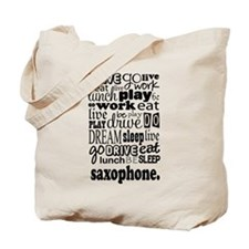 Saxophone Music Gift Tote Bag
