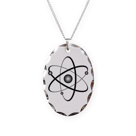 Atomic Necklace Oval Charm