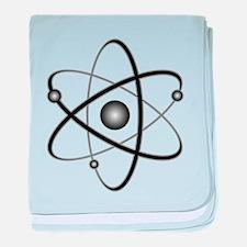 Atomic baby blanket