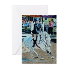 Horseshow Greeting Card