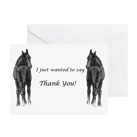 Two Foals Greeting Cards (Pk of 10)