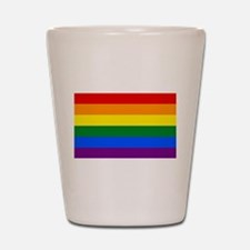 Gay Pride Shot Glass