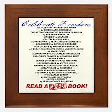 Read a Banned Book! Framed Tile