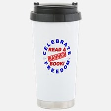Read a Banned Book! Stainless Steel Travel Mug