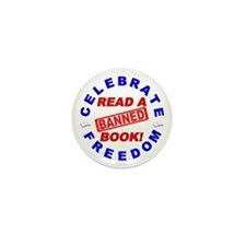 Read a Banned Book! Mini Button (10 pack)
