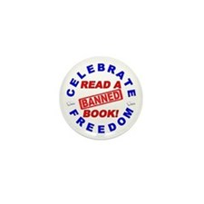 Read a Banned Book! Mini Button