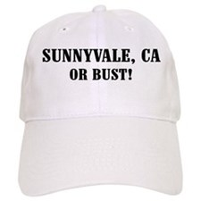 Sunnyvale or Bust! Baseball Cap