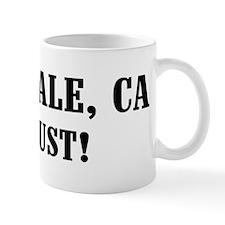 Sunnyvale or Bust! Small Mug