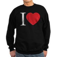 I LOVE (Heart) Sweatshirt