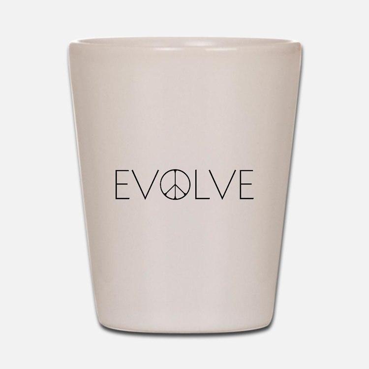 Evolve Peace Narrow Shot Glass