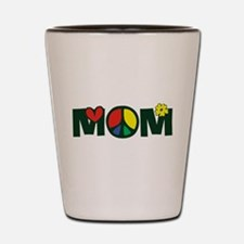 Peace Mom Shot Glass