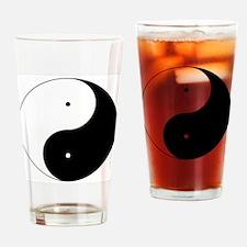 Daoism Yin & Yang Drinking Glass