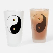 Peace Sign Dao Drinking Glass